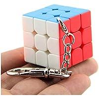 Moyu 3x3 Mini cubo llavero cubo liso colgante niños Puzzle regalo 30mm & 35 mm & 40 mm | Dingze (30mm) - Peluches y Puzzles precios baratos