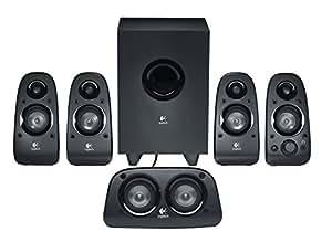 Logitech Z506 5.1 Channel Surround Sound Multimedia Speakers (Black)