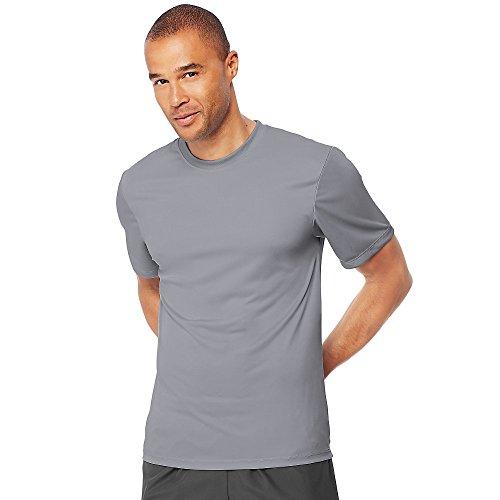 Hanes Mens Cool Dri Performance T-Shirt Graphite