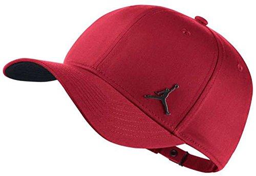 Nike Jordan clc99Metal Jumpman, Mütze verstellbar Herren Einheitsgröße Gym Red
