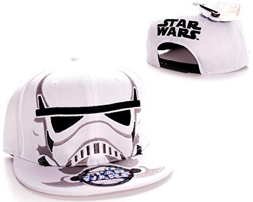 Star Wars Cap Trooper Maske Mütze Snapback Basecap Stormtrooper Schirmmütze Snapback