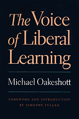Voice of Liberal Learning por Michael Oakeshott