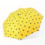 JUNDY Reiseregenschirm - Kompakter windfester Regenschirm - sehr leichtes und faltbares Design...