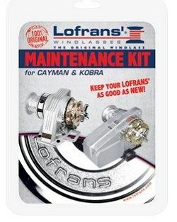 Lofrans Cayman and Kobra Windlass Maintenance Kit Test
