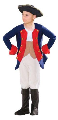 Kostüm Patriot - Morph Jungen Soldier Kostüm, Patriot, L