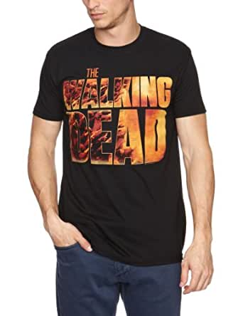 Walking Dead - Vintage Men's T-Shirt Black X Large