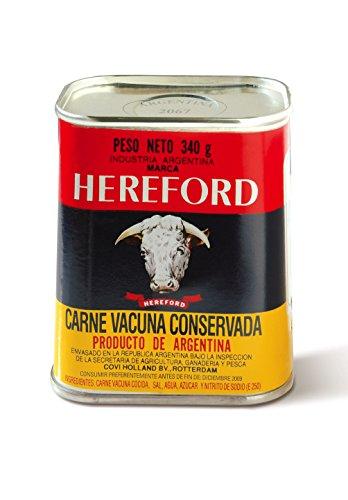 Hereford Carne Vacuna en Conserva - 340 gr