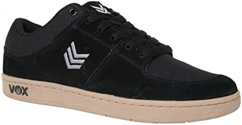 Vox Skateboard Schuhe Passport (Cup) Black/Gray/Gum  Billig und erschwinglich Im Verkauf
