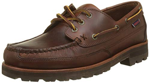 Sebago Herren Vershire Three Eye FGL Mokassin Braun (Marron Cannelle Brun 922) 43.5 EU Eye Moc