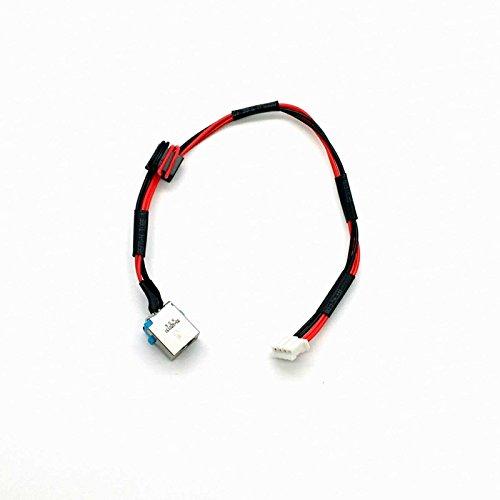 piezas-portatiles.com Conector DC Jack con cable para Jack Packard Bell Easynote TM98 P5WS0