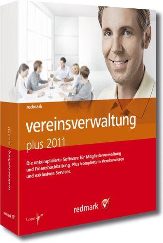 redmark vereinsverwaltung plus 2011: Die professionelle All-in-One-Lösung für Vereine ab 300 Mitgliedern