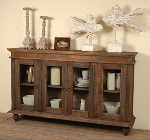 Sunset Trading CC-CAB201S-RW Sideboard Cottage Shabby Chic Raftwood