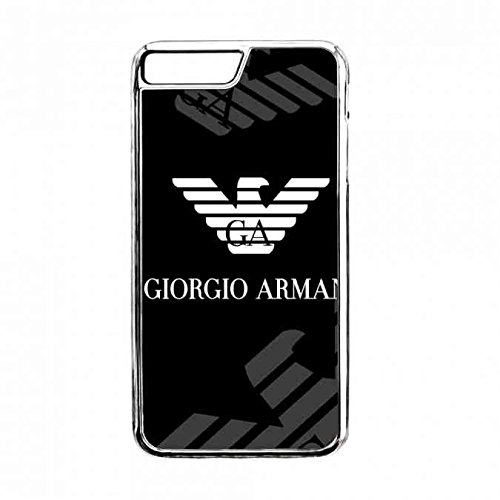 Logo Armani Funda,Tpu Silicona Armani Funda Carcasa,Giorgio Armani Transparente Apple Iphone 7plus Carcasa,Clear Iphone 7plus Armani Funda Carcasa