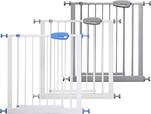 ib style MEGANE Barrière de sécurité| à pression - sans percage | 74 cm-143 cm|3 couleurs