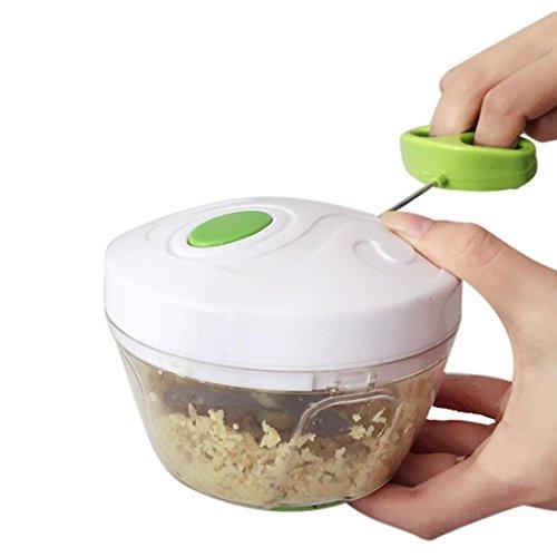 HCFKJ Hand Chopper Manuelle Seil KüChenmaschine Slicer Shredder Salat Maker