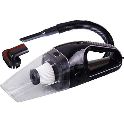 MA87 Autostaubsauger Handstaubsauger Dirt Dust Neue tragbare 12V 120W Wet Dry (Schwarz)