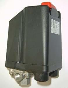 Bouton poussoir F. Compresseurs 15bar Protection du moteur 10–16A