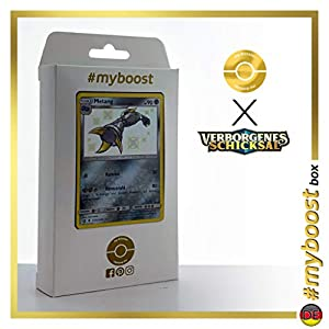 Metang (Metang) SV31/SV94 Variocolor - #myboost X Sonne & Mond 11.5 Verborgenes Schicksal - Box de 10 cartas Pokémon Alemán