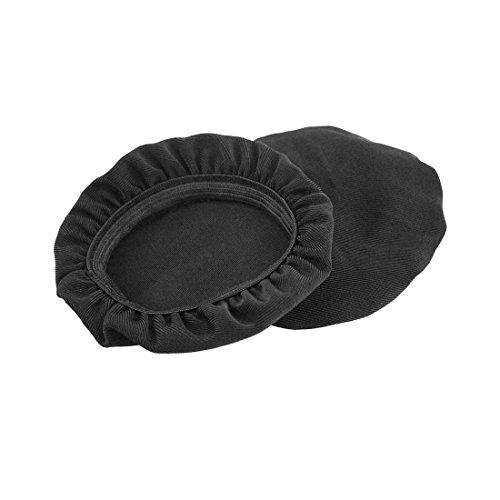 Dehnbarer Stoff Kopfhörer Ohrpolster/waschbar Sanitär Kopfhörermuschel abdeckt, passt 4,1cm–7,6cm (4cm–7,6cm Ohrpolster) Kleine...