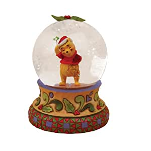 Enesco Disney Traditions Kiss of Snow Waterball, Winnie The Pooh