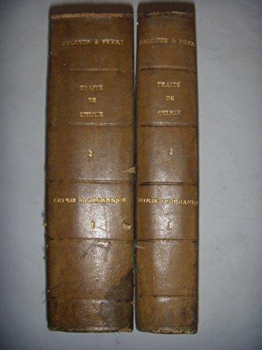Traité de chimie industrielle et agricole: Chimie inorganique Vol 2 & 3, 1865 par Pelouze Frémy