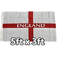 England Flag (material) - 5ft x 3ft