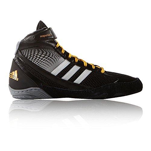 adidas Response 3.1 Chaussures de lutte des hommes Noir/gris/blanc