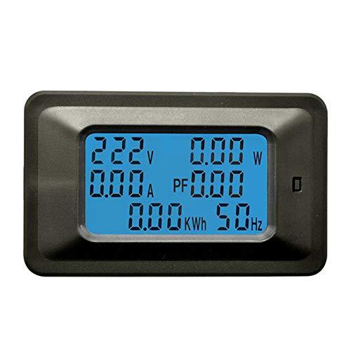 SYN Power Monitor Tester Werkzeug Durable Digital Panel Amperemeter Großbildschirm, Energie Multifunktional Haushalt Strom Hintergrundbeleuchtung LCD Display Voltmeter Watt Meter