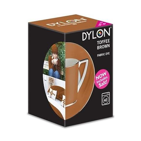 Dylon Machine Colorant 350g Brun Caramel au Beurre, Sel Inclus!