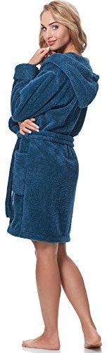 Merry Style Donna Accappatoio con Cappuccio 1GN2S Jeans-654