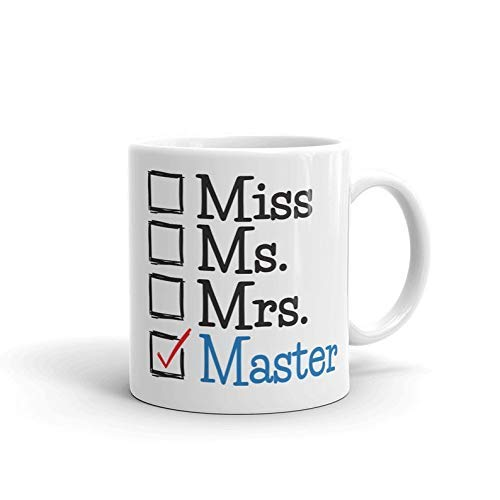 Masters Degree Graduation Women Coffee Mug - Ms Mrs Master MSW MBA Social Work - Ms-team 8.