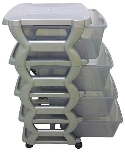 Cassettiere In Plastica Con Ruote.Cassettiere In Plastica Con Ruote Il Signor Rossi