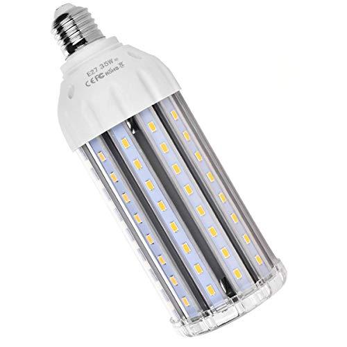 SanGlory 35W E27 LED Lampe Mais Licht Ersatz für 300W Glühlampe 3000 Lumen Warmweiß 360° Abstrahlwinkel 5730 SMD LED Leuchtmittel Energiesparlampe Super Hell für Garage Fabriklager Werkstatt (300 Glühbirne W)