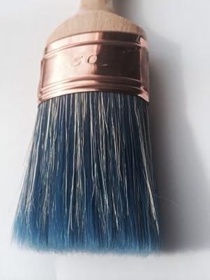 #PRO50 Innensechskant-Schraubendreher-Einsatz-Set, L- 50 mm, Kreidetafel, SHABBY-CHIC, OVAL, Professioneller Pinsel für Acrylfarben auf Wasserbasis und Kreide von Chalk2Chic bei TapetenShop