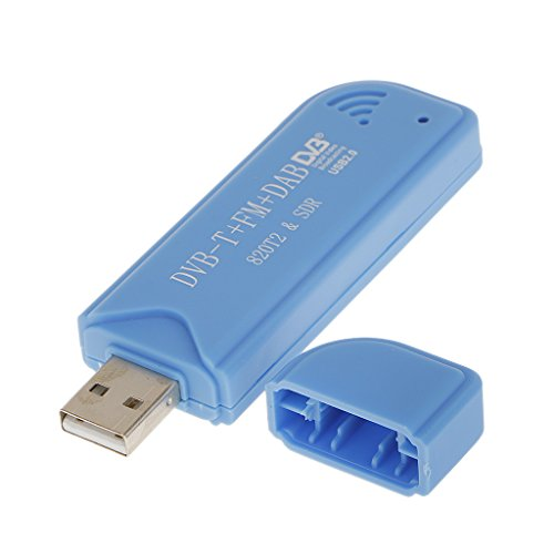Generic USB 2.0 DVB-T Digital Sdr + Dab + Fm HDTV Fernsehtuner-Empfänger-Stick Rtl2832u + R820t2