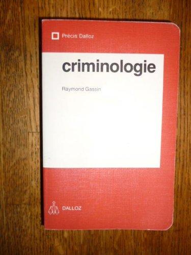 Criminologie (Prcis Dalloz)