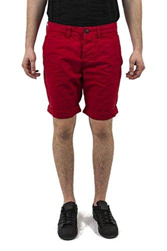 Superdry Herren Shorts International Deck Red