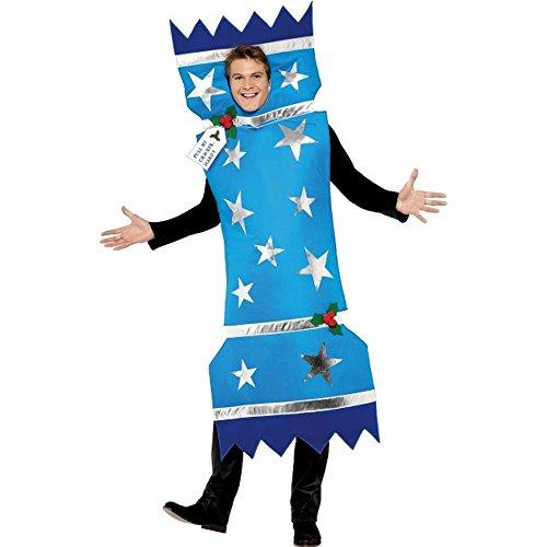 Erwachsenen Kostüm Knallbonbon Karneval Weihnachten Silvester Party
