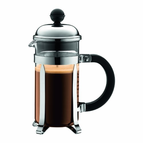 Bodum Chambord Coffee Maker, 3 tazze, 0.35L, Shiny