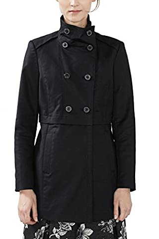 ESPRIT Collection 126eo1g018, Manteau Femme, Noir (Black), 36