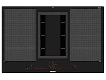 siemens ex801lx34e plaque induction avec hotte int gr cuisson abzug 80 cm de large. Black Bedroom Furniture Sets. Home Design Ideas