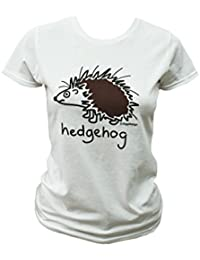 Red Dog Wear Hedgehog Womens T.Shirt