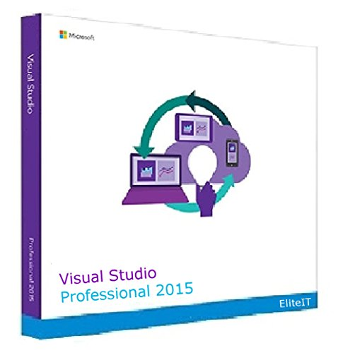 Microsoft Visual Studio 2015 Professional 1 User License (EN) Visual Studio 2010 Software