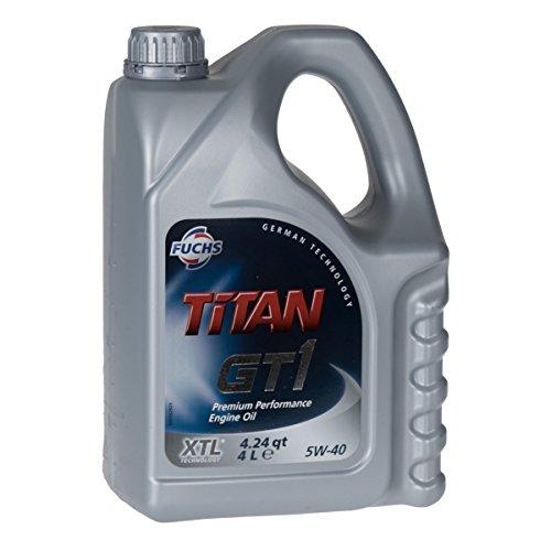 Motoröl Fuchs Titan GT 1 5W-40 4Ltr. Kanister