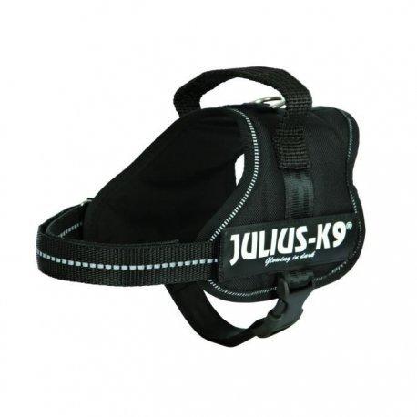 Julius-k9, 162p-mm, K9-powerharness, Size: Mini-mini, Black