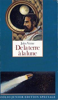 De la terre à la lune par Jules Verne