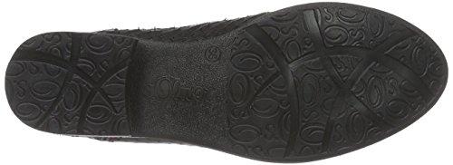 s.Oliver 25334 Damen Chelsea Boots Schwarz (Black Struct. 006)