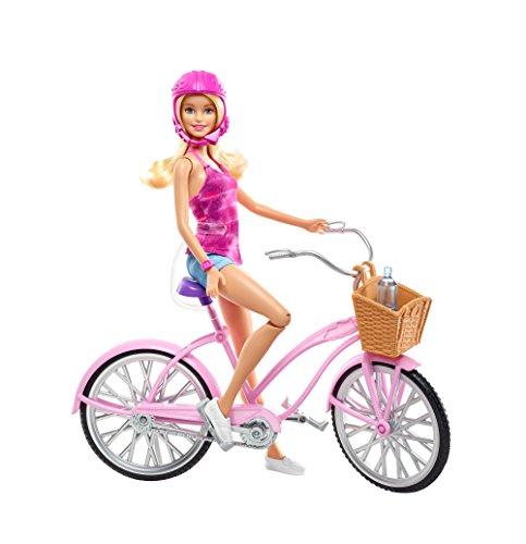 Barbie Mattel DJR54 - Glam Fahrrad und Puppe Glam Pie