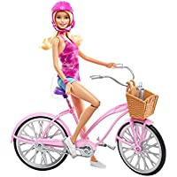 Mattel Barbie DJR54 - Glam Bicycle and Doll