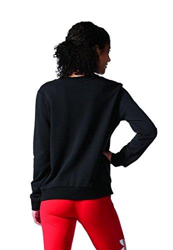Adidas crew sweater Sweat, femme Noir